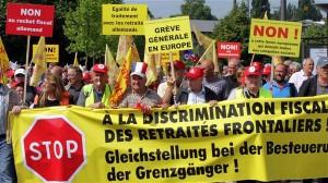 Les frontaliers retraités en colère contre le fisc allemand